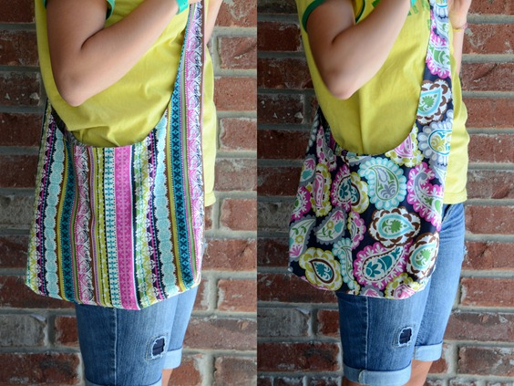 Sling Shoulder Tote Bag Pattern 47