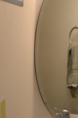 removing a bathroom mirror crap i 39 ve made. Black Bedroom Furniture Sets. Home Design Ideas