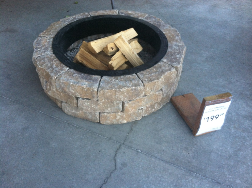 Fire Pit Kit Natural Gas  Spark Igniter
